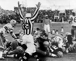 GREEN BAY PACKERS ICE BOWL LAMBEAU FIELD 8X10 GLOSSY PHOTO P