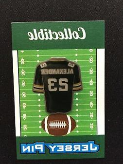 Green Bay Packers Jaire Alexander jersey lapel pin-Collectib