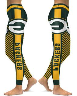 green bay packers leggings small xxl 0