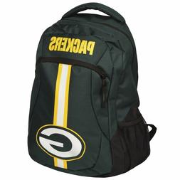 Green Bay Packers Logo Action BackPack School Bag Back pack