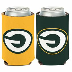 Green Bay Packers Logo Can Cooler 12oz Collapsible Koozie -