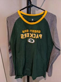 green bay packers long sleeve shirt nfl