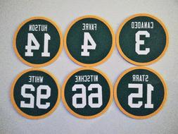 green bay packers magnets retired jerseys pick
