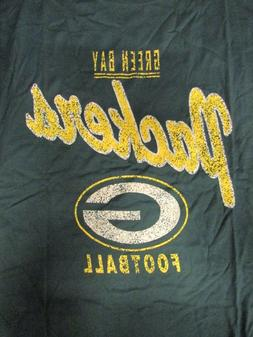 Green Bay Packers Men's Big & Tall Football T-Shirt NFL Gree