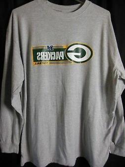 Green Bay Packers Men's NFL Team Apparel Long Sleeve Tee Shi