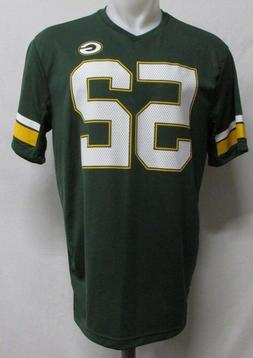 Green Bay Packers Men's NFL #52 Clay Matthews Dark Green Jer