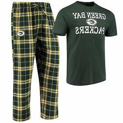 Green Bay Packers Men's NFL Duo Shirt And Pants Pajama Sleep