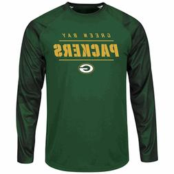 Green Bay Packers Mens Green Polyester League Rival Long Sle
