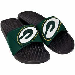 green bay packers mens sandals nfl slide