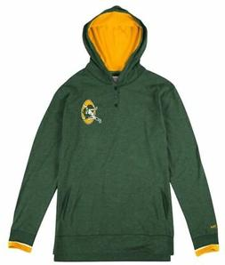 "Green Bay Packers Mitchell & Ness NFL ""Seal The Win"" L/S Hoo"
