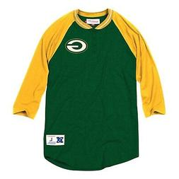 "Green Bay Packers Mitchell & Ness NFL Men's ""4th Down"" 3/4 S"