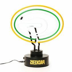 Green Bay Packers Neon Logo Desk Table Lamp Light