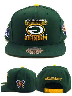 Green Bay Packers New Mitchell & Ness Super Bowl Champions E