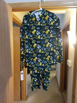 Green Bay Packers NFL Apparel Men's Pajama Set Adult S NWT