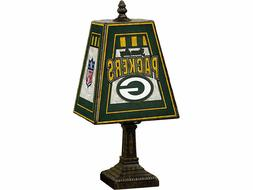 Green Bay Packers NFL Art Glass Tiffany Table Desk Lamp New
