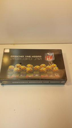 GREEN BAY PACKERS NFL CHECKERS SET BOARD GAME FACTORY SEALED