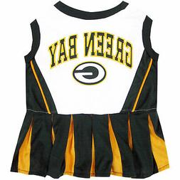 Pets First Green Bay Packers NFL Cheerleader Outfit