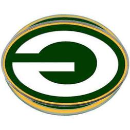 GREEN BAY PACKERS NFL Class III Pewter Trailer Hitch Cover