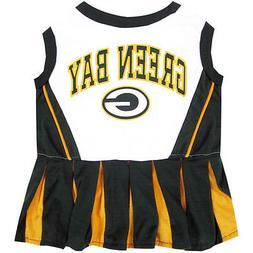 Green Bay Packers NFL Dog Pet Cheerleader Dress