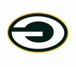 Green Bay Packers NFL Football Color Logo Sports Decal Stick