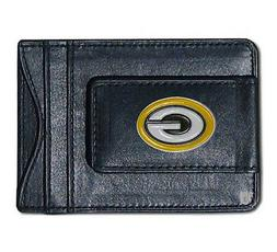 Green Bay Packers NFL Football Team Leather Card Holder Mone