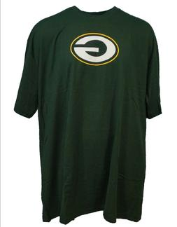 Green Bay Packers NFL Majestic Green Logo T-Shirt, Men's Big