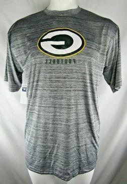 Green Bay Packers NFL Team Apparel Men's Grey Big & Tall Shi