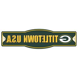 Green Bay Packers Official NFL 4 inch x 17 inch Plastic Stre
