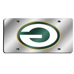 Green Bay Packers Official NFL Plastic License Plate by Rico