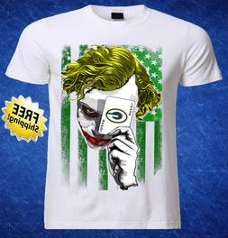Green Bay Packers NFL Team Football Men Jersey Shirt Joker N