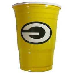 GREEN BAY PACKERS PLASTIC GAMEDAY CUPS 18OZ 18CT SOLO TAILGA