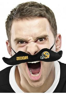 Green Bay Packers Plush Mustache - Get Ready For Game Day! T