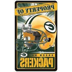 GREEN BAY PACKERS ~ Property of Wall Display Helmet 7.25 x 1