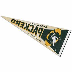 Green Bay Packers Retro Vintage Logo Pennant Flag