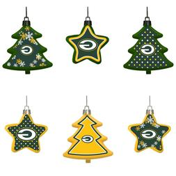Green Bay Packers Shatterproof TREES & STARS Christmas Tree