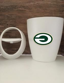Green Bay Packers Small 9L 2.4 Gallon Wastebasket Man Cave T