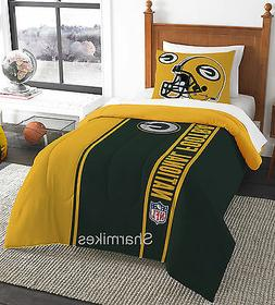 Green Bay Packers Soft & Cozy 2 Piece Twin Bed in a Bag Comf