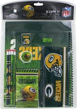 NFL Green Bay Packers 11 Piece Stationery Set