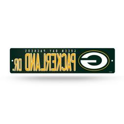"""Green Bay Packers Street Sign NEW! 4""""X16"""" """"Packerland Dr."""" M"""