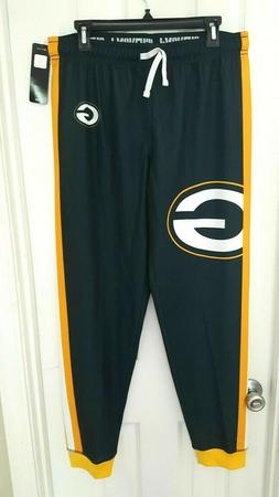 green bay packers sweatpants size large joggers