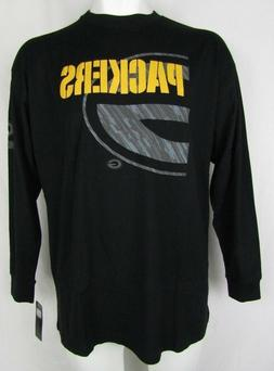 Green Bay Packers NFL Team Apparel Men's Black Reflective Lo