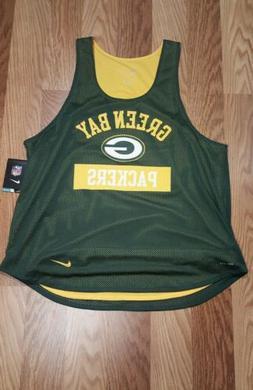 Green Bay Packers Nike Team Basketball Jersey Womens SZ:XL B