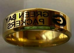 Green Bay Packers Team Titanium Ring, several styles, **Free