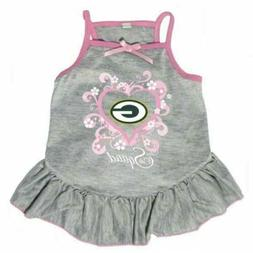 """Green Bay Packers """"Too Cute Squad"""" Pet Dress"""