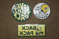 GREEN BAY PACKERS Vintage Style Decals Bumper Stickers Helme
