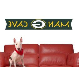 Green Bay Packers Wall Decal NFL Logo Vinyl Design Man Cave