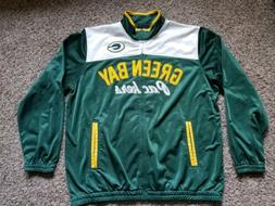 green bay packers warm up track jacket