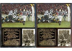 Ice Bowl Green Bay Packers Photo Plaque 1967 NFL Championshi