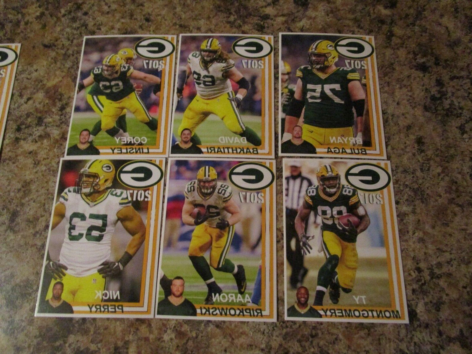 2017 Green Bay Police Rodgers Clay Matthews NELSON