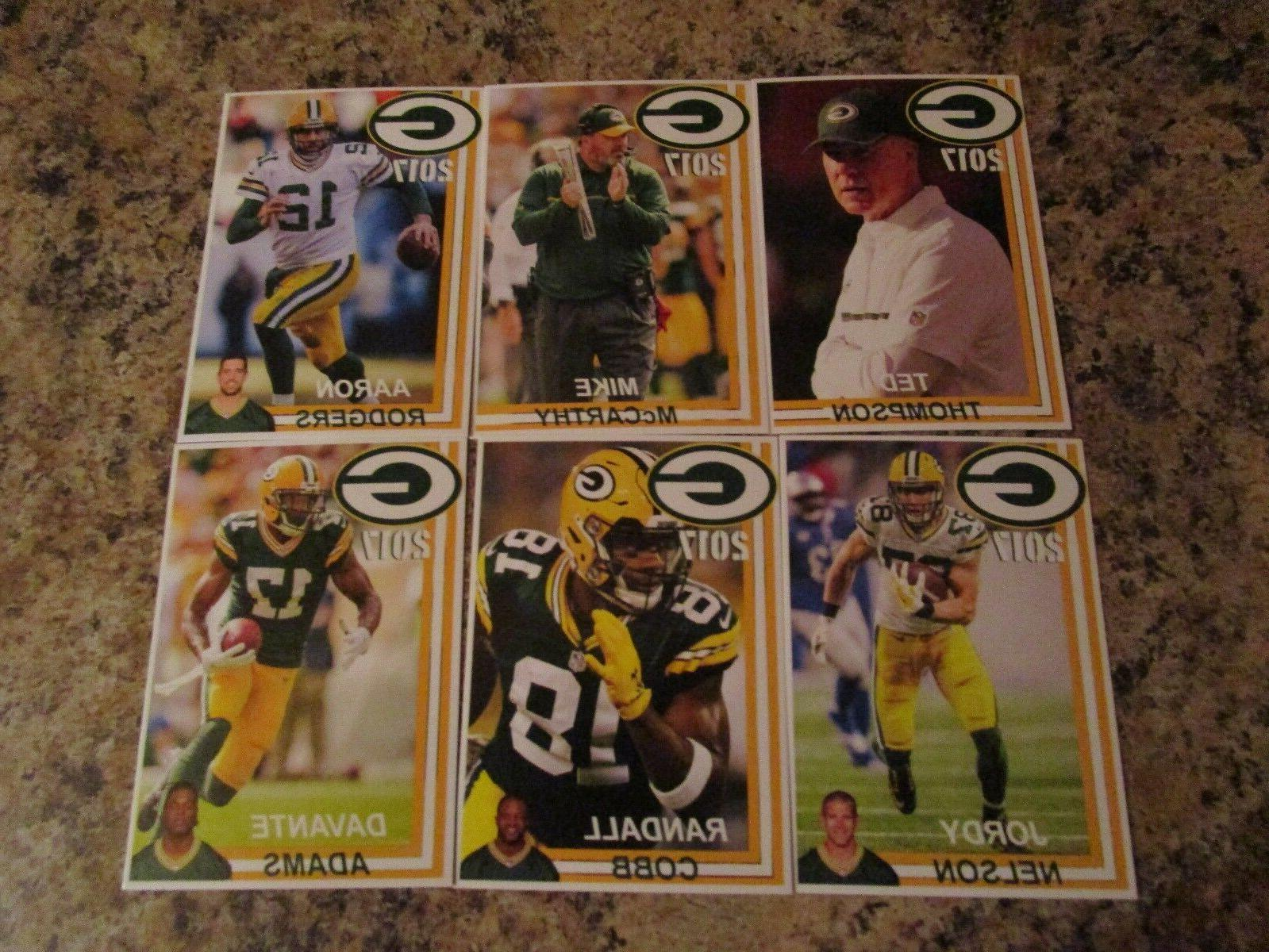 2017 Bay Police Set Aaron Rodgers NELSON